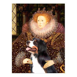 Carte Postale Bernsese et la reine