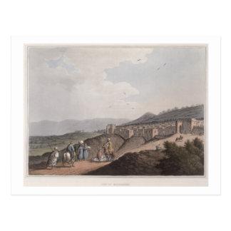 Carte Postale Bethlehem en Palestine, vue de la partie