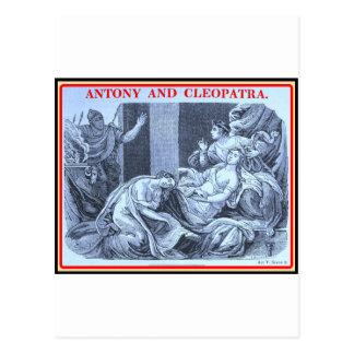 Carte Postale Bibliomania : Shakespeare - Antony et Cléopâtre