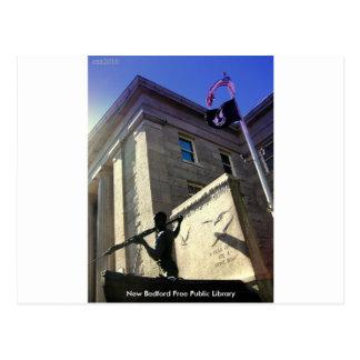 Carte Postale Bibliothèque publique libre de New Bedford