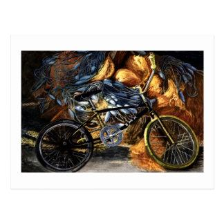 Carte Postale Bicyclette abandonnée