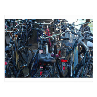Carte Postale Bicyclettes