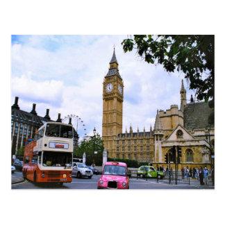 Carte Postale Big Ben et le palais de Westminster