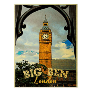 Carte Postale Big Ben Londres