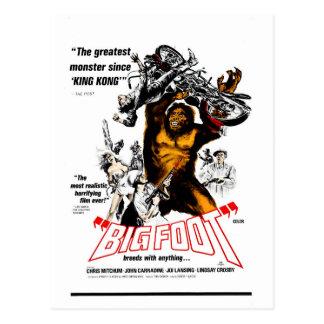 Carte Postale Bigfoot !