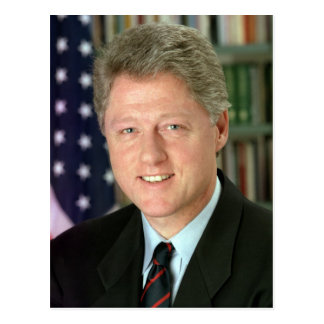 Carte Postale Bill Clinton