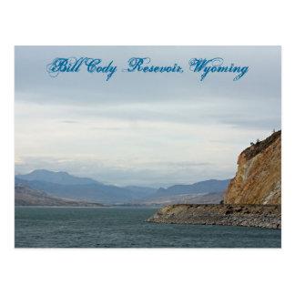 Carte Postale Bill Cody Resevoir, Wyoming