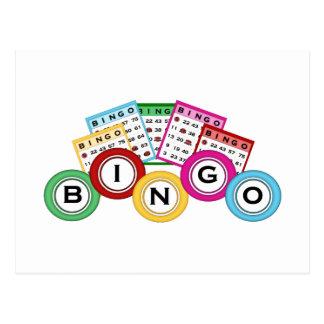 Carte Postale Bingo-test