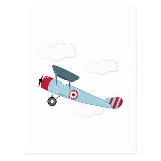 Carte Postale Biplan