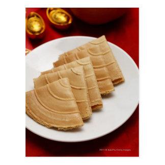 Carte Postale Biscuits chinois de nouvelle année