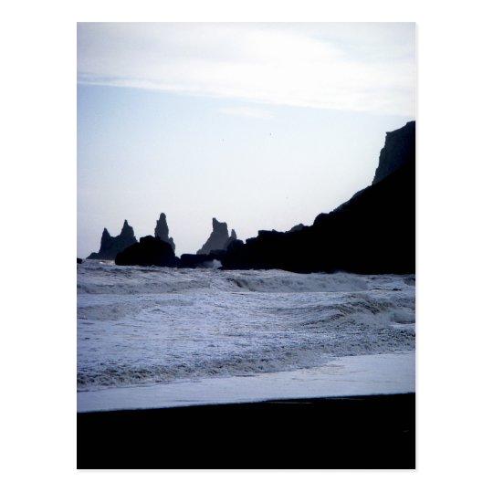 Carte Postale Black Beach