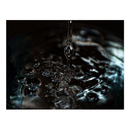 Carte Postale Black Water