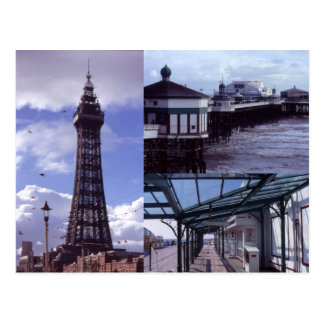 Carte Postale Blackpool 3 images