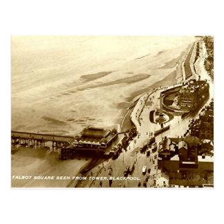 Carte Postale Blackpool, carré de Talbot