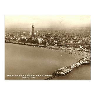 Carte Postale Blackpool de l'air