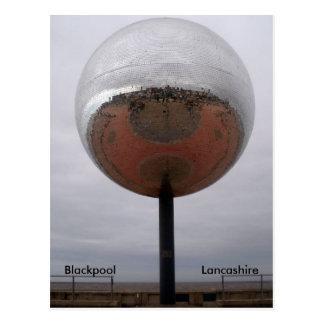 Carte Postale Blackpool Mirrorball