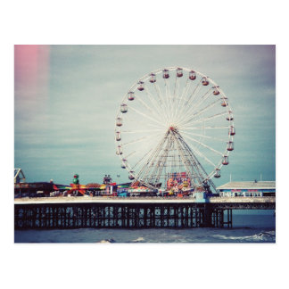 Carte Postale Blackpool (Royaume-Uni)