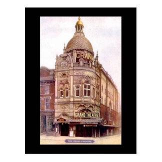 Carte Postale Blackpool, théâtre grand