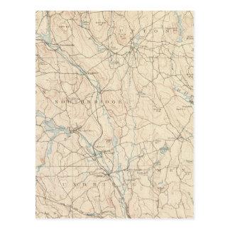 Carte Postale Blackstone, le Massachusetts