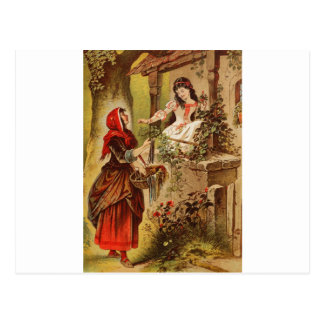 Carte Postale Blanc de neige de Fairytalesque-