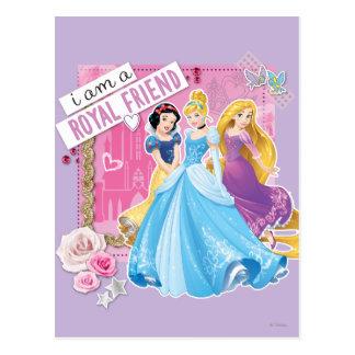 Carte Postale Blanc de neige de la princesse   de Disney,
