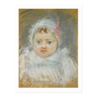 Carte Postale Blanche Pontillon en tant que bébé, 1872 (en