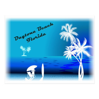 Carte Postale Bleu de Daytona Beach