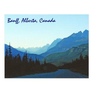Carte Postale Bleu de jaspe de Banff