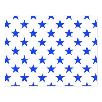 Carte Postale Bleu de l'étoile 1