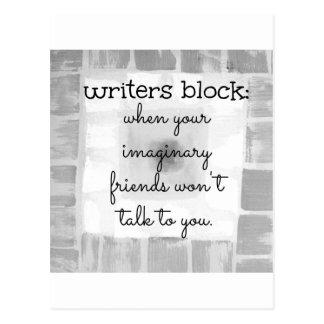 Carte Postale Bloc d'auteurs