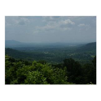 Carte Postale Blue Ridge Mountains