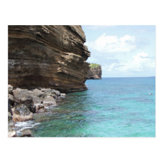 Carte Postale Bluffs au Grenada