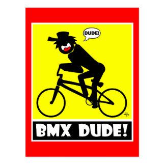 CARTE POSTALE BMX DUDE-18