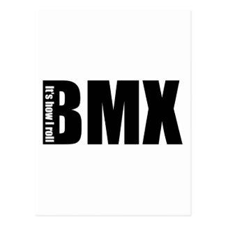 Carte Postale BMX - Il est comment je roule