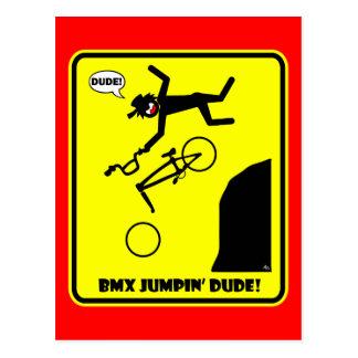 CARTE POSTALE BMX JUMPIN'-21
