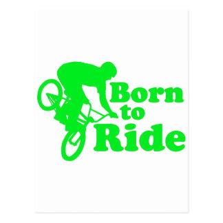 Carte Postale BMX soutenu pour monter