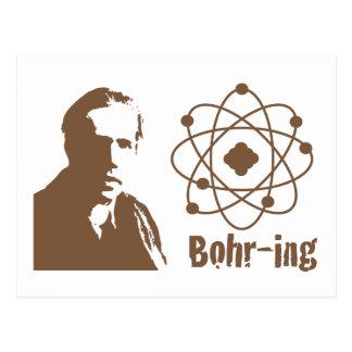Carte Postale Bohr-ing