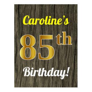 Carte Postale Bois de Faux, anniversaire d'or de Faux 85th et