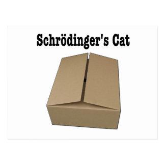 Carte Postale Boîte de chat de Schrodinger