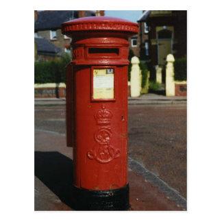 Carte Postale Boîte de pilier britannique d'Edouard VII