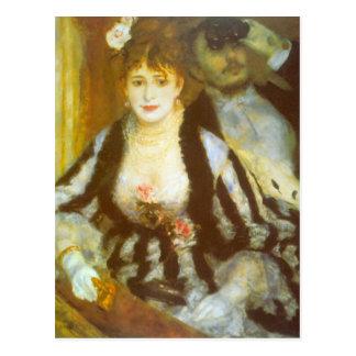 Carte Postale Boîte de théâtre par Pierre Renoir, beaux-arts de