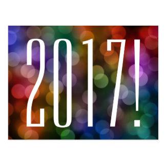 Carte Postale bokeh 2017