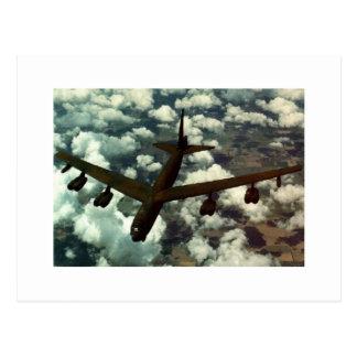 Carte Postale Bombardier B-52