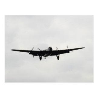 Carte Postale Bombardier lourd d'Avro Lancaster