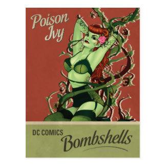 Carte Postale Bombe de lierre de poison