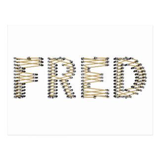 Carte Postale Bon logo de FRED