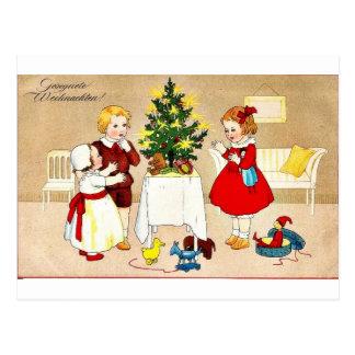 Carte Postale Bon vieux Noël