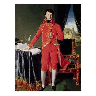 Carte Postale Bonaparte en tant que d'abord consul, 1804