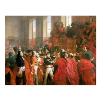 Carte Postale Bonaparte et Conseil de cinq cents au St