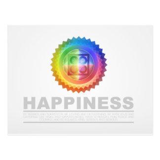 Carte postale - bonheur élémentaire